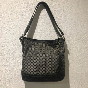 "Coach Bags - Coach Bucket Hobo Small ""C"" Signature Shoulder Bag"